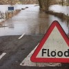 Flood water affecting businesses