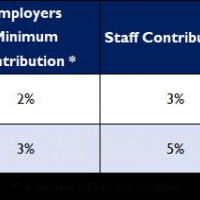 What are the Workplace Pension Contribution levels?